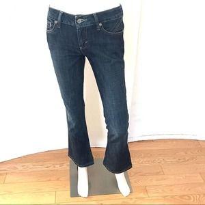Antik Denim 5 Pocket Medium Wash Bootcut Jeans